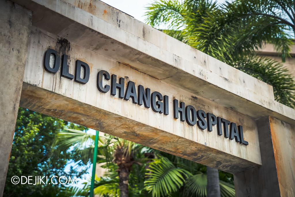 Universal Studios Singapore - Halloween Horror Nights 6 Before Dark Day Photo Report 3 - Old Changi Hospital haunted house / close-up