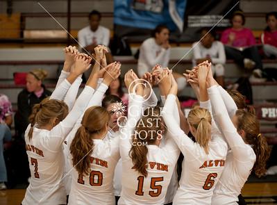 2009-08-27 Volleyball - Girls - Alvin vs Alamo Heights