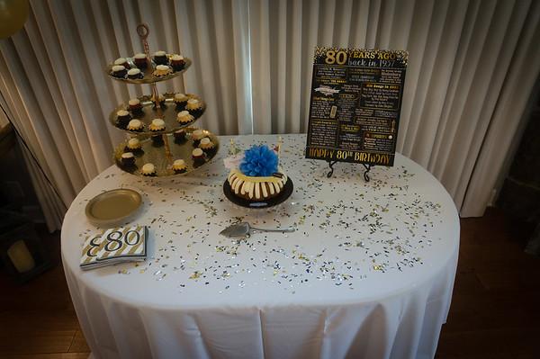 Tom Bretti Surprise 80th Birthday Party