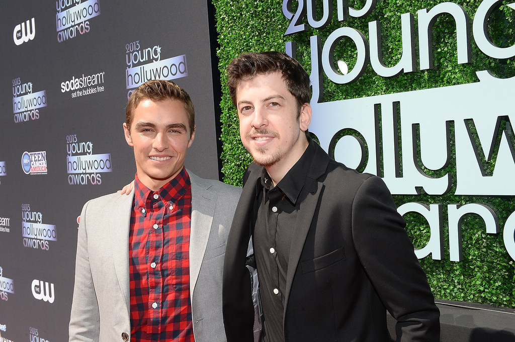 . Actors Christopher Mintz-Plasse (R) and Dave Franco attend CW Network\'s 2013 Young Hollywood Awards presented by Crest 3D White and SodaStream held at The Broad Stage on August 1, 2013 in Santa Monica, California.  (Photo by Michael Buckner/Getty Images for PMC)