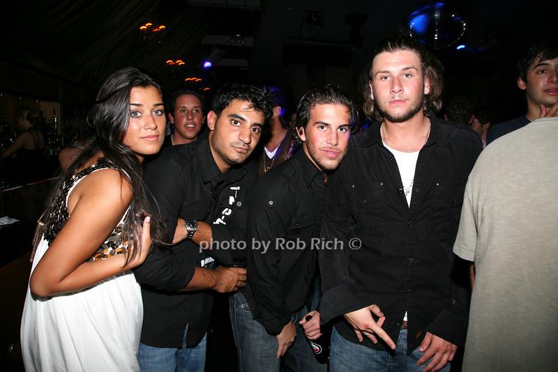 Liz, Kaveh, Matt, Mick
