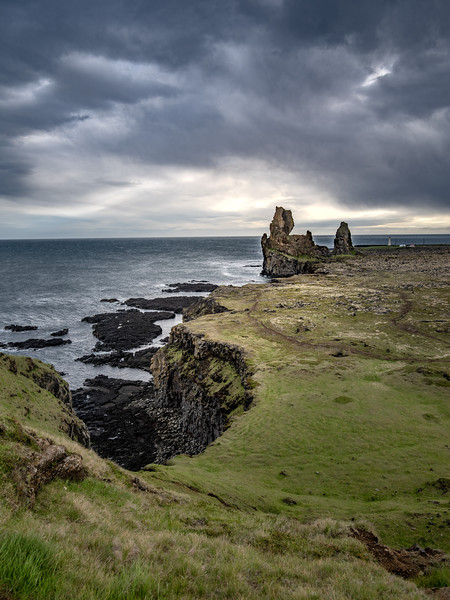 Rugged Iceland Coast  Photography by Wayne Heim