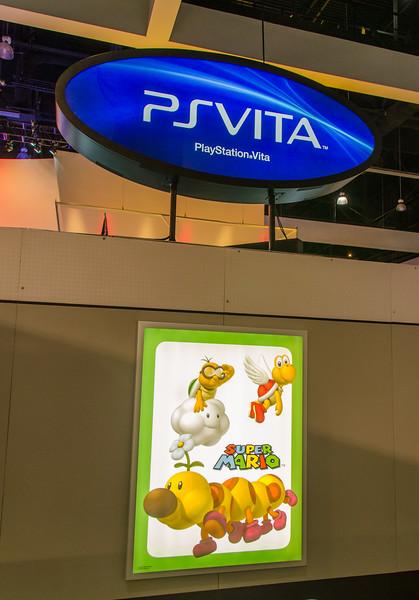 PS Vita and Super Mario at E3 2012