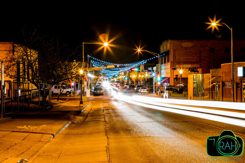 Gallup Lights at Night 3-19-16