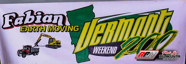 Devil's Bowl Speedway-Vermont 200 Weekend-9/4-9/5/21-Bill McGaffin