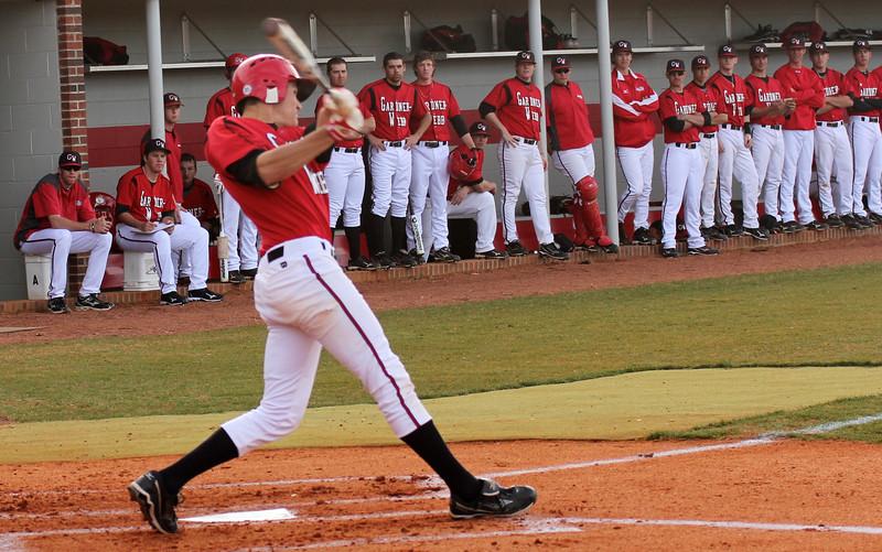 The GWU Baseball team
