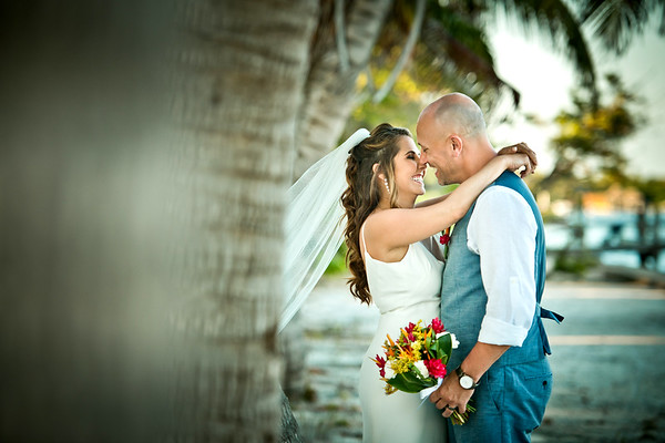 Julie & Clint - Wedding - Belize -17th of  March 2019