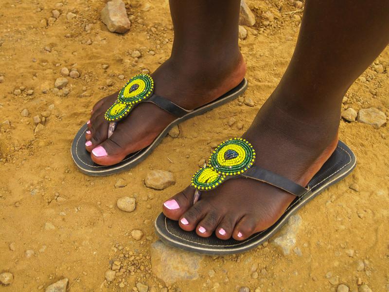 The prettiest feet in Rwanda