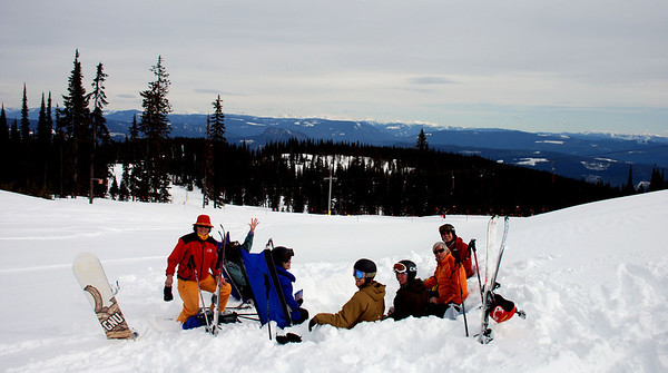 Anderson Family Skis Silverstar