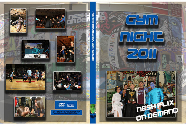 Gym Night DVD Design