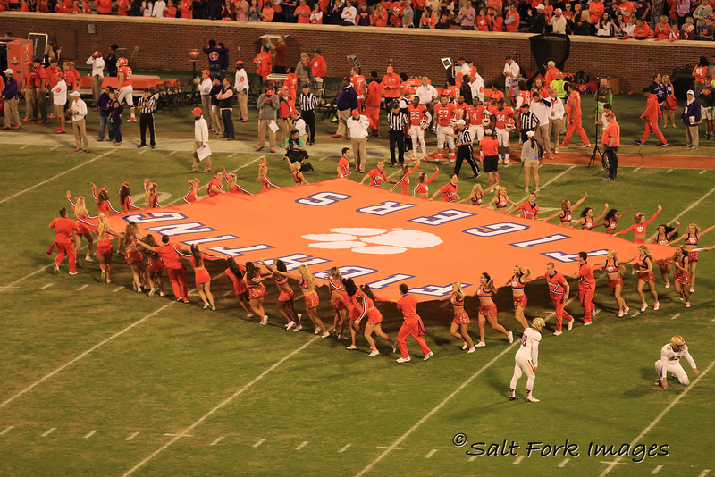 It's game time!  Go Tigers!  Death Valley - Clemson University