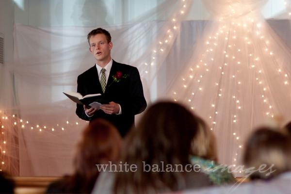 Garrett & Marlaina, Ceremony