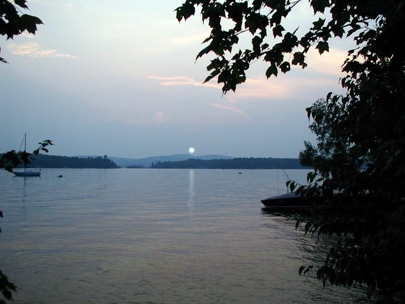 Lake Winnipesaukee at Sunset.jpg
