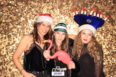 Meche Salon Holiday Party