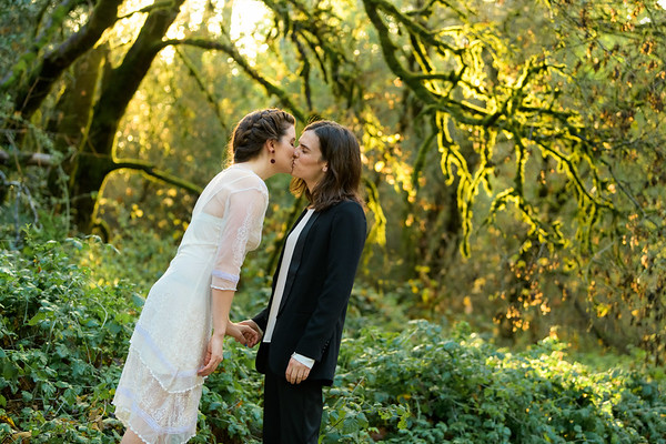 Ky and Helen Elopement @ Henry Cowell, Felton