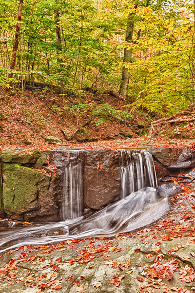 Blue Hen Falls in the Cuyahoga Valley National Park (2011-10-10)