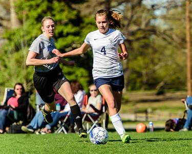 VG Soccer  vs James River 3/29/16