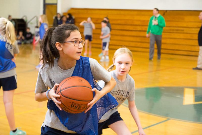 Blue vs. White: Basketball