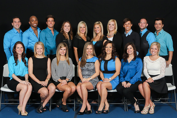 2013 LA Cheer Force Staff