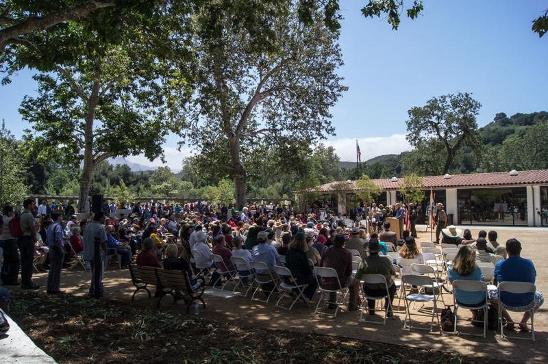 20120609008-King Gillette Santa Monica Mountain Visitor Center Opening.jpg