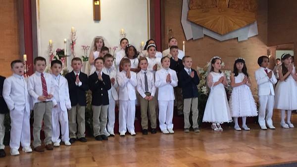 2015.04.29 St. Theresa First Eucharist