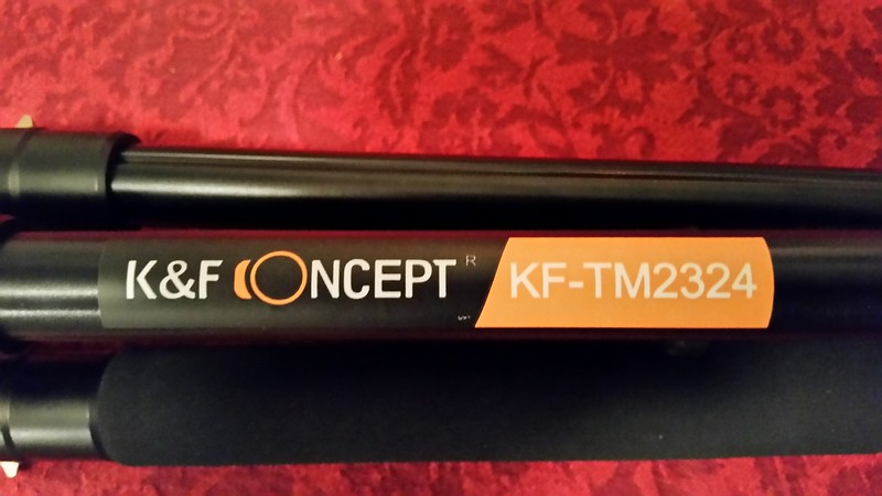 K&F Concept TM2324 Tripod 1
