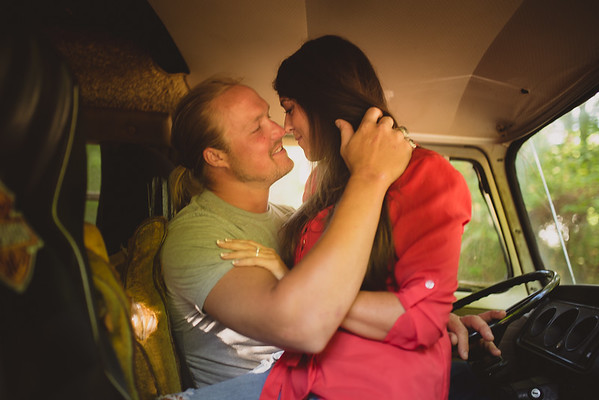 """Amanda & Dustin's """"Ready For Love's Journey"""" Engagement In Monroe, GA"""