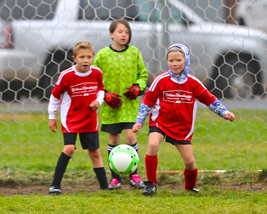 Outlaw 1st & 2nd & 3rd & 4th Grades Soccer SPRD October 2018