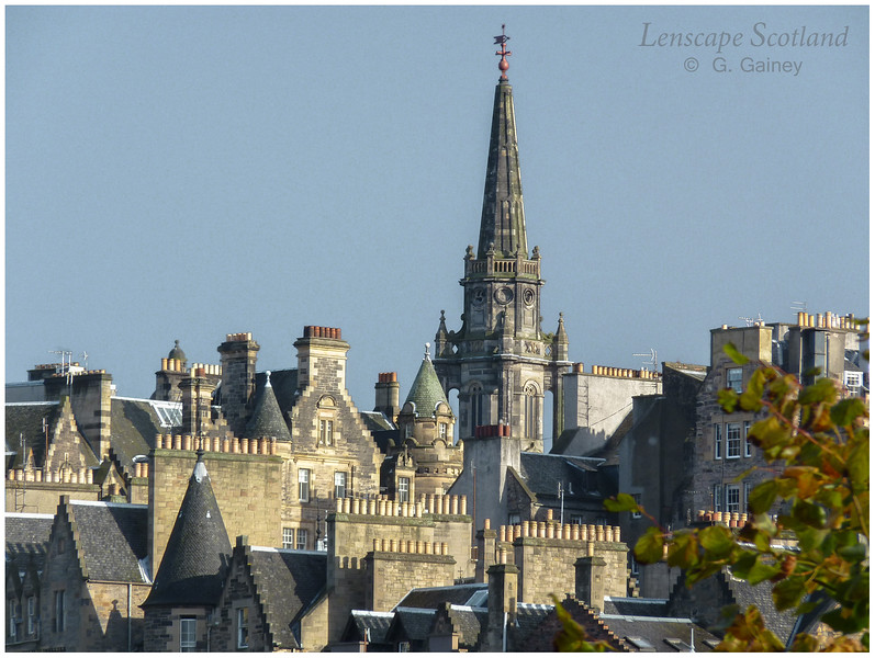 Old Town roofscape from Princes Street