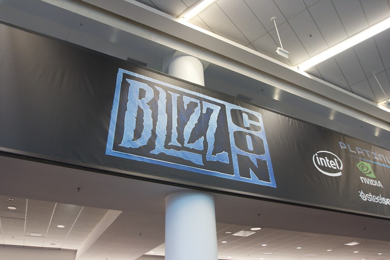 2011 BlizzCon - Exhibit Hall and Main Stage