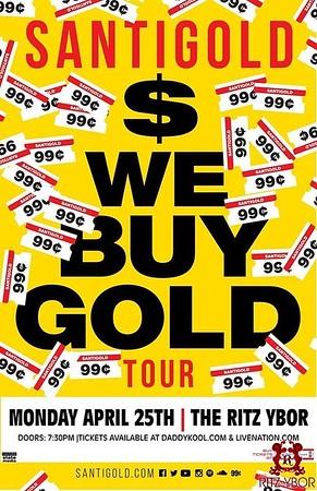 Santigold: We Buy Gold Tour