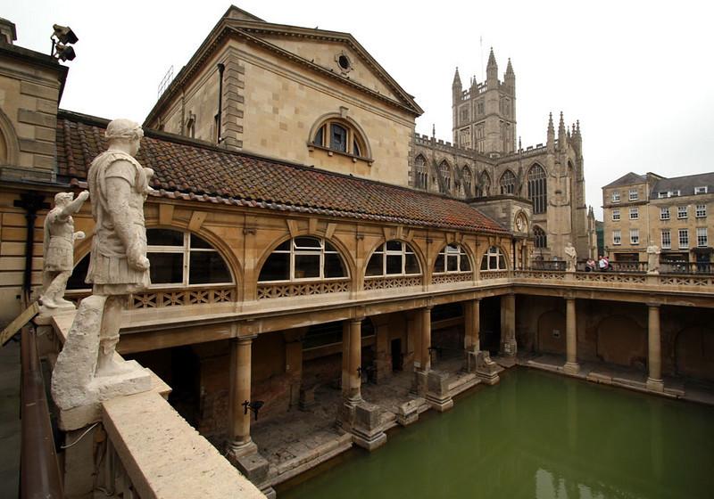 Romans] baths