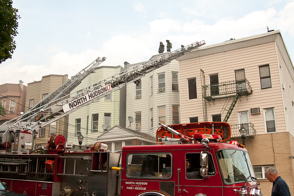 Union City NJ 5th alarm, 616 10th St. 07-26-15