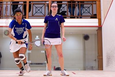 2013-01-18 Corri Johnson (Amherst) and Alexandra Spiliakos (Wellesley)