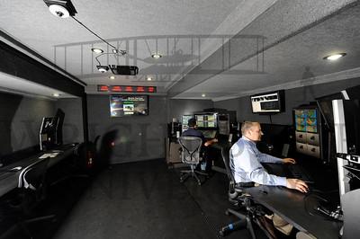 14006 Mobile Test and Evaluation Center Trailer interior 7-15-14