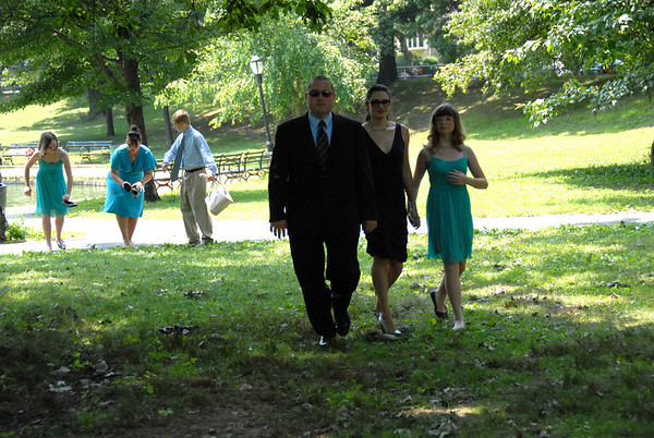 TEAM ROBBY @ AuntFancies Wedding 7-25-09