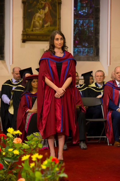 03/11/2017. Waterford Institute of Technology Conferring. Pictured is Rachel Moran who was conferred a PhD.  Picture: Patrick Browne.