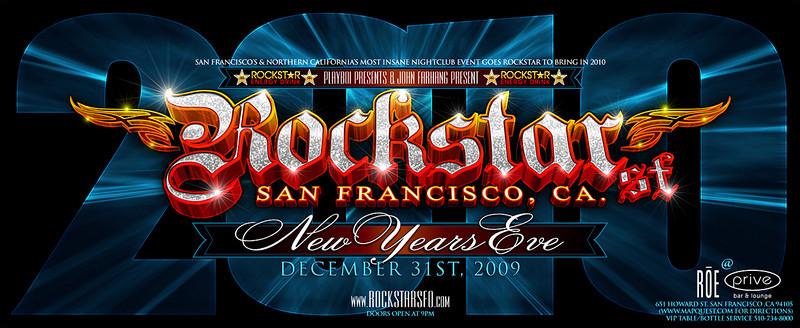Playboi Presents NYE Rockstar @ Roe 12.31.09