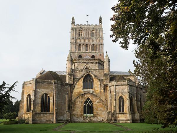 Tewkesbury Abbey Visit