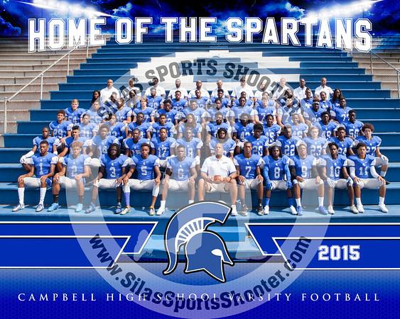 2015 Campbell Spartans - Football
