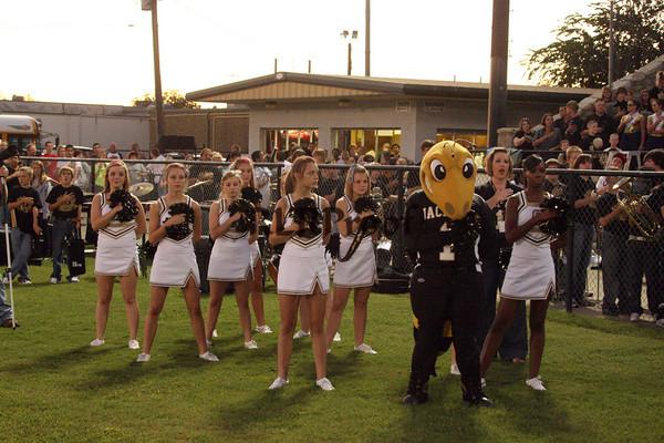 Cleburne Varsity Cheer Sept 25, 2009