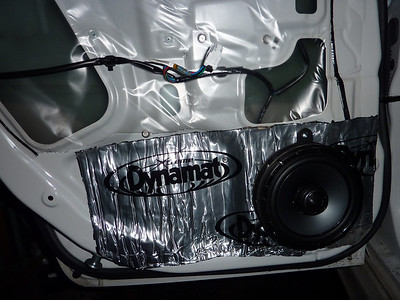 2010 Subaru Impreza Sedan Rear Door Speaker Installation