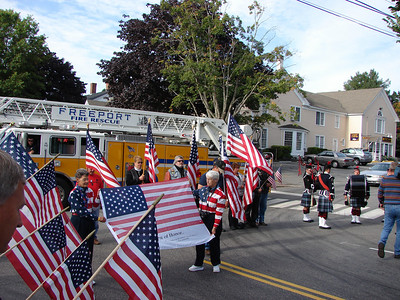 Remembering 9-11 in Freeport 2009
