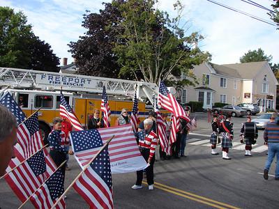 Remembering 9-11 in Freeport 2009