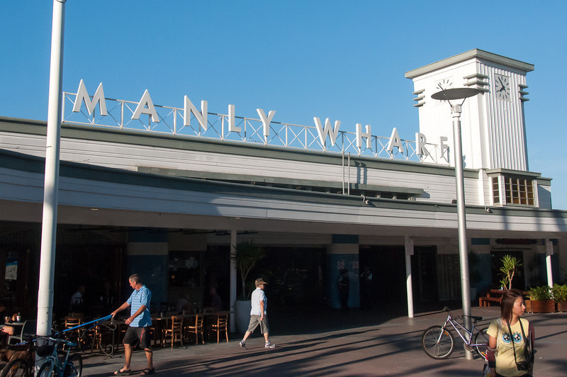 Manly Wharf in Sydney, Australia