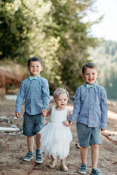 Dickison Family- Fall Creek