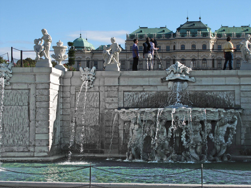 20- Central fountain and Upper Belvedere