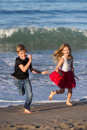 Hunt Family, Beach Session