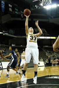 NKU Women's Basketball vs North Florida 2-28-2013