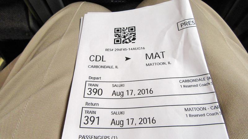Saluki Day Trip Carbondale to Matoon Roundtrip